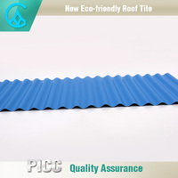 Alibaba PVC UPVC material plastic roof cover sheets for house warehouse