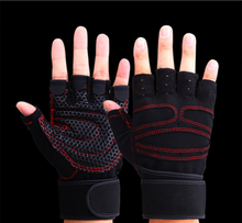 Sports Gloves Fitness Exercise Training Gloves Half Finger bicycle Weightlifting Gloves