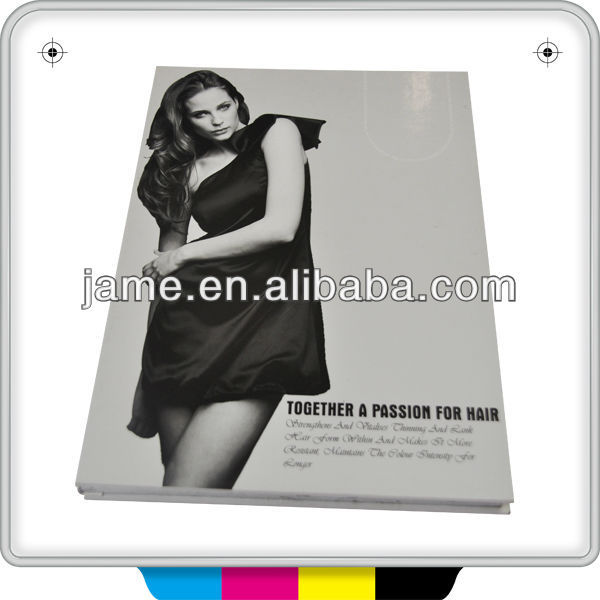 cosmetic catalogue design printing in 250gsm gloss art paper