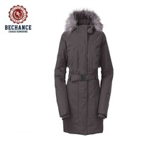 AD2810 female long slim cold weather down jacket