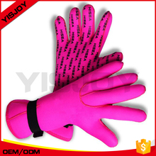 custom women ladies pink diving gloves neoprene