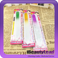 professional durable glass nail file nail emery board