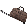 All-Seasons Coffe 21-inch 22-inch Carry-On Rolling Duffel Bag