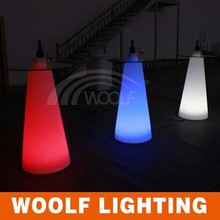 colors control led roller standing party table