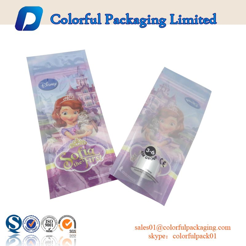 heat resealable food grade plasitc coconut sugar packaging bag with ziplock and clear window