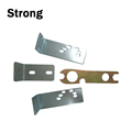 Customized sheet metal stamping bending and zinc plating parts