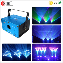 3 watts anolog animation disco stage light full color rgb laser