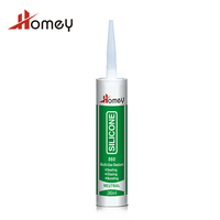 Homey 860 hot selling high quality non toxic glass silicone sealant