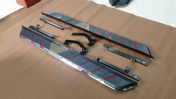 car accessories Aluminum Alloy & Iron original side steps/Running board for All models SUV type 1