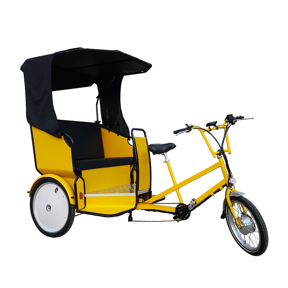 Buy 2 Seat Passenger Three wheel Taxi Bike Rickshaw Tricycle