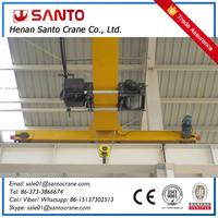 Hot Sell Euro-style 20 ton overhead crane Factory Direct Sell