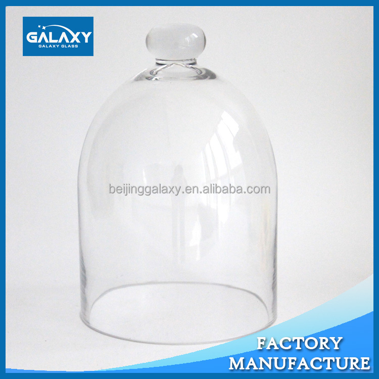 high quality electric furnace flower glass dome cover wholesale