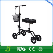 Economy disabled folded Knee orthopedic walker with knee support