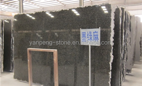 Best selling green granite verde ubatuba Slabs