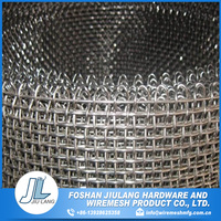 Factory price galvanized stainless steel crimped wire mesh square wire mesh