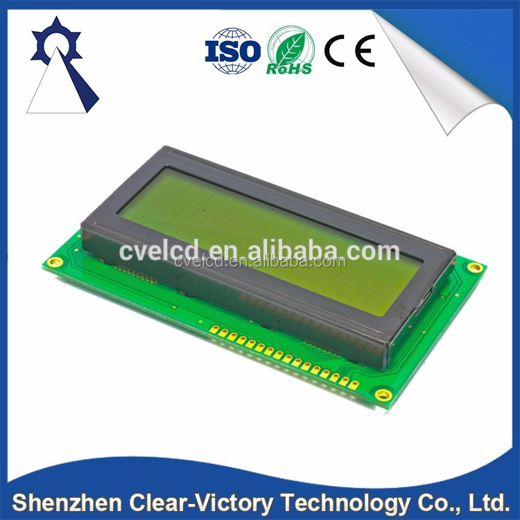 Top selling products 2017 OEM STN Color 2004 Blue Screen LCD Module