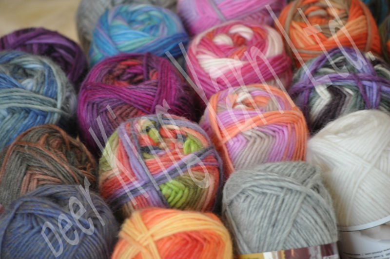 Supply All Colors Recycled Polyester Twisted Label Dyed Yarn - Buy ...