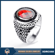Cheap price value 925 sterling silver arab men ring 2016