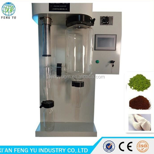 2L/hour Electric Lab Spray Dryer For Chemical Powder Making Mini Spray Dryer with color touch LCD display