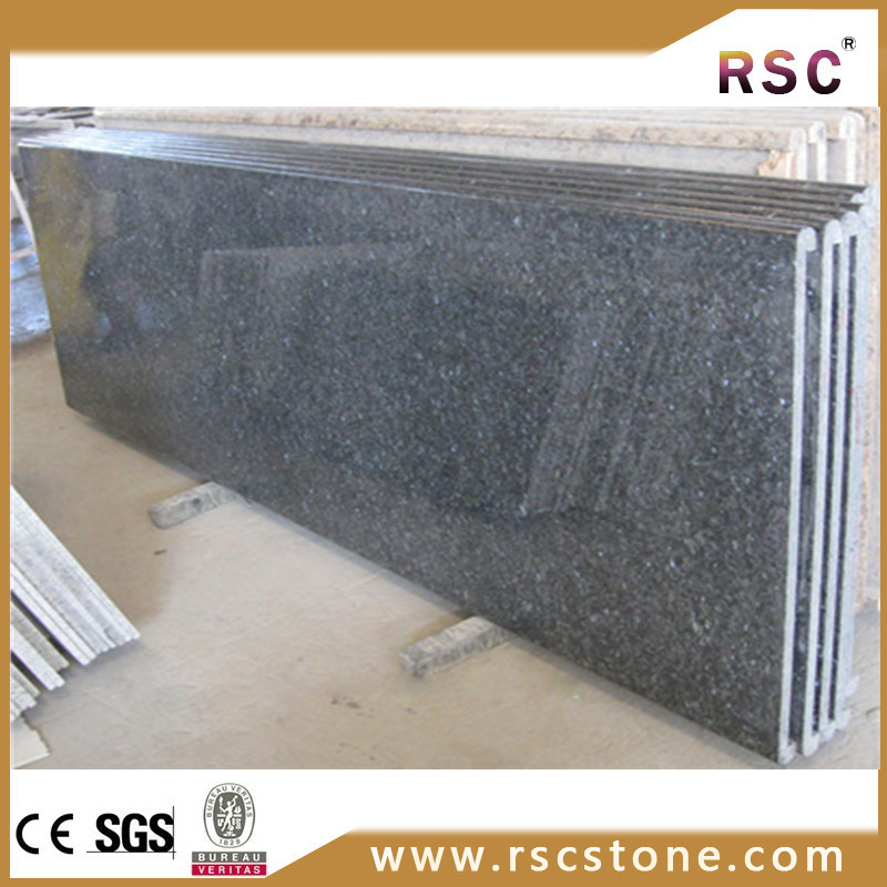 Popular cheap mother of pearl blue granite