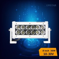 shenzhen factory top quality 8 inch 36w Led Light Bar led lights For Jeep Wrangler