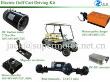 high quality electric golf cart 48v dc motor as well as controller and axle