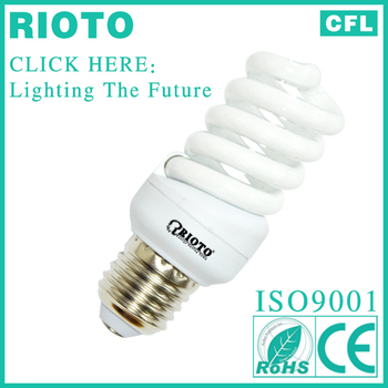 ISO-9001 Quality Control Full Spiral Power Saver Lamp China