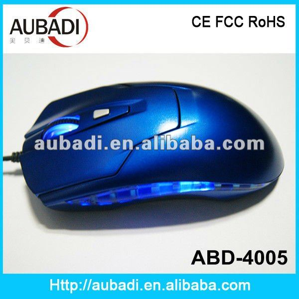 Professional High DPI 3D Wired OEM Gaming Mouse