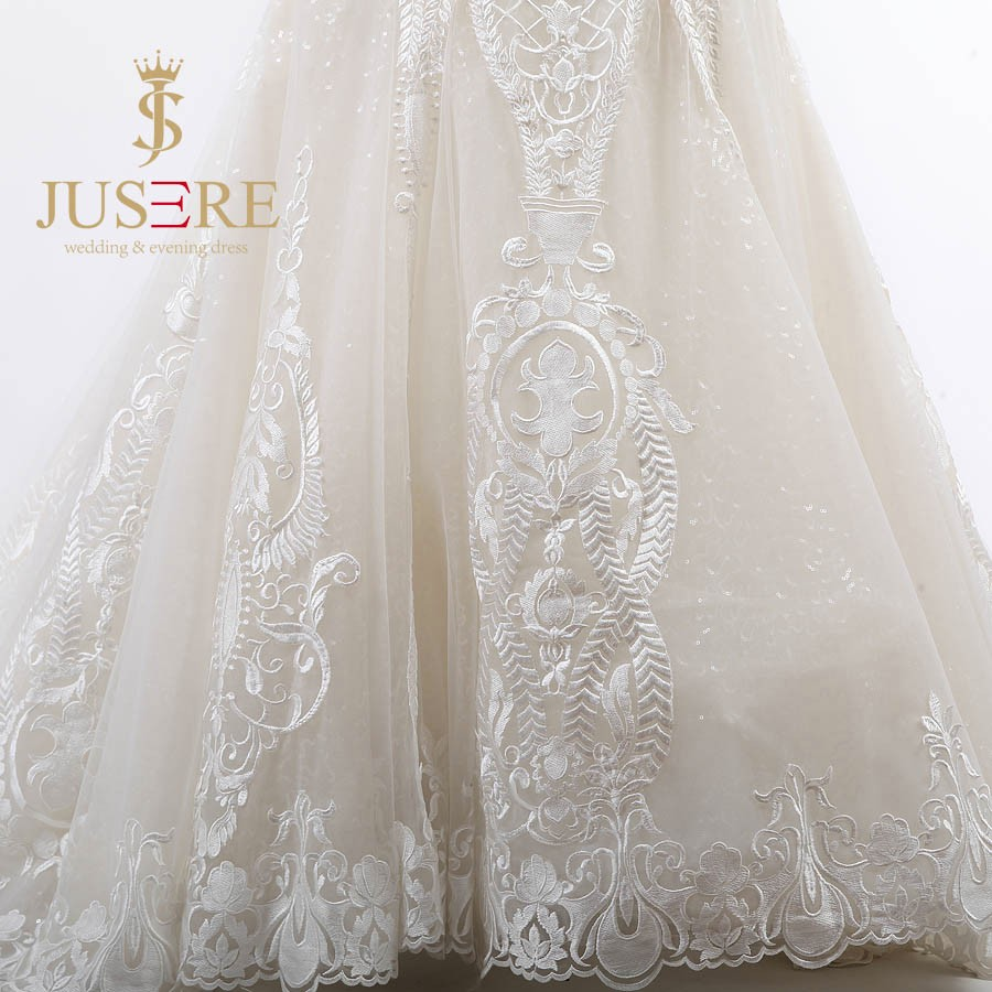 Newest Floor Length Embroidered Lace Ivory Mermaid Wedding Dresses 2016 Off Shoulder Sweetheart Bride Gowns