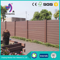 water resistance High quality wpc garden fence wood