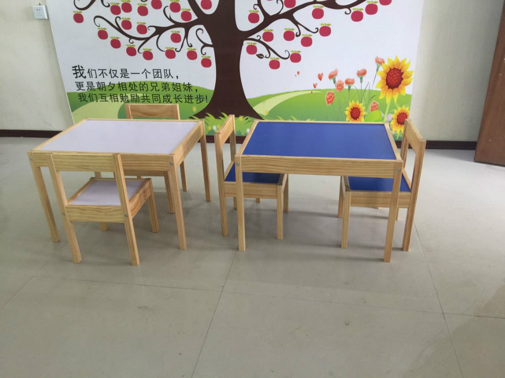 2016 modern preschool furniture wooden kids table and for Modern kids furniture