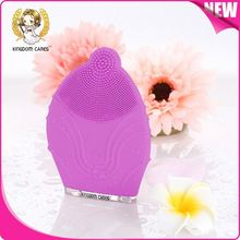 High quality face brush silicone facial cleansing electric brush