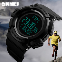 2018 ce rohs reloj running sports pedometer skmei watch instruction wr 50m 2time fitness pocket watch smart