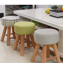 Direct factory supply low price short wooden stool