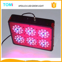 New present Apollo 6 LED hydroponics growing light system full spectrum 90*3W 300w lg led grow light