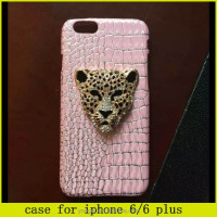2015 new design !!Super Glitter 3D Lion Fantastic Case for iphone 6 6 plus