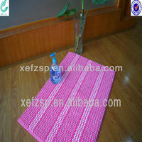 machine washable microfiber chenille loop bathmat