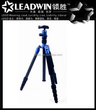 LW-PT04C high quality portable extendable travel compact-reverse camera tripod for film shooting equipment