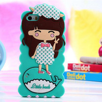 China manufacturer for General usage custom made cartoon silicone phone case