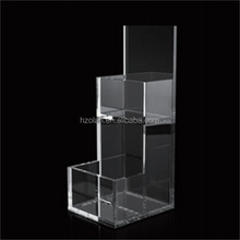 Hot selling Aolan acrylic catalogue display stand holder with great price/2-layer Catalogue Holder