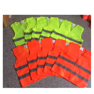 Reflective safety clothing fluorescent vest police safety clothing Traffic control vest