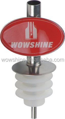 Promotional oil/olive pourer with logo