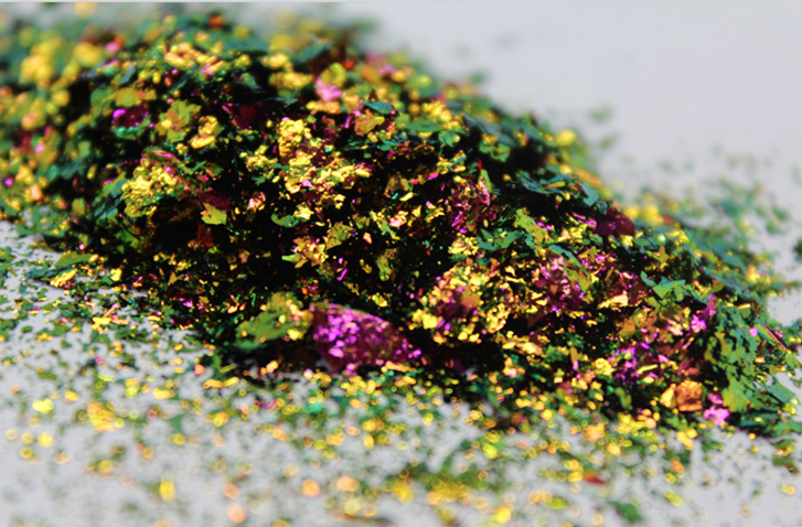 Chameleon Effect Pigments ,Chameleon Flakes for Nail