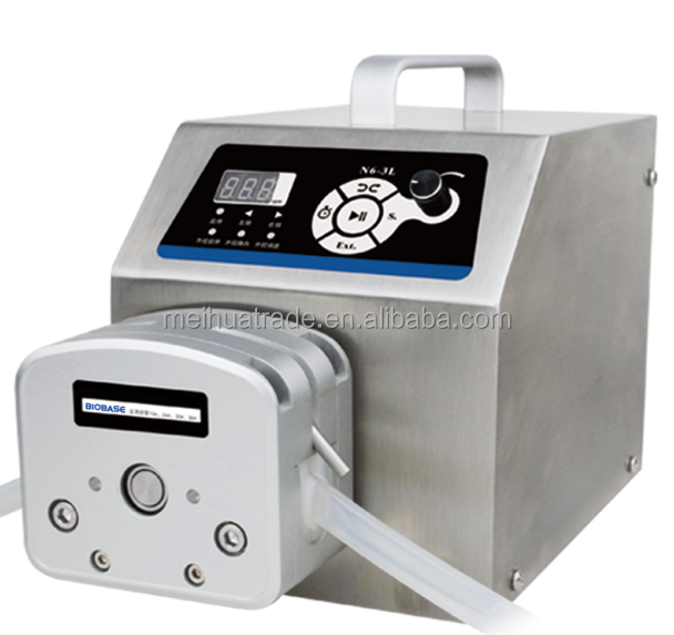 digital display low flow Precise variable speed peristaltic pump for water pumps fluid