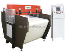 Precision conveyor belt form continuous feeding cutting machine