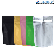 aluminum foil packaging bag high barrier custom sizes zipper pouches