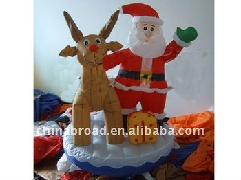 Fast delivety Christmas inflatable Christmas toys for kids