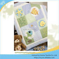 Brand new baby quilt double pillow block