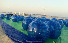 bubble footballs clear glass bubble ball inflatable bumper football/soccer bubble ball inflatable water rolling ball
