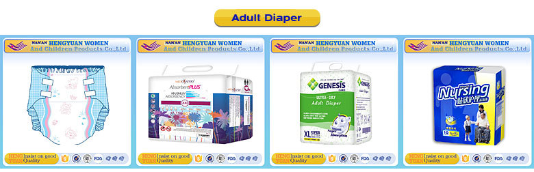 ABDL corlorful baby printed adult diapers with super absorption